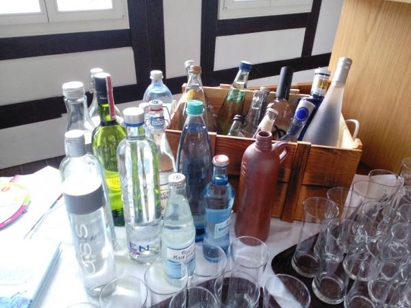 Mineralwasser Tasting 8.02.21